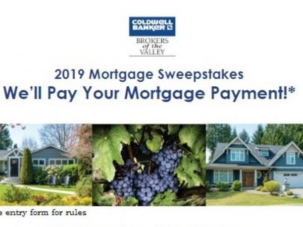 2019 Mortgage Sweepstakes - Sonoma Valley, CA Patch