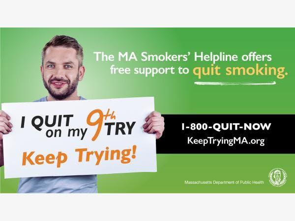 MA Smoker's Helpline    KeepTryingMA org - Worcester, MA Patch