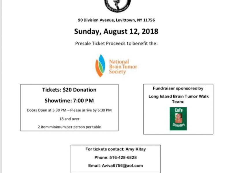 Comedy Fundraiser To Benefit National Brain Tumor Society In Memory Of  Wantagh Resident Cal Kitay