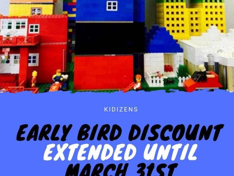 Kidizens Summer Camp - Early Bird Discount Extended - Foster City, CA Patch