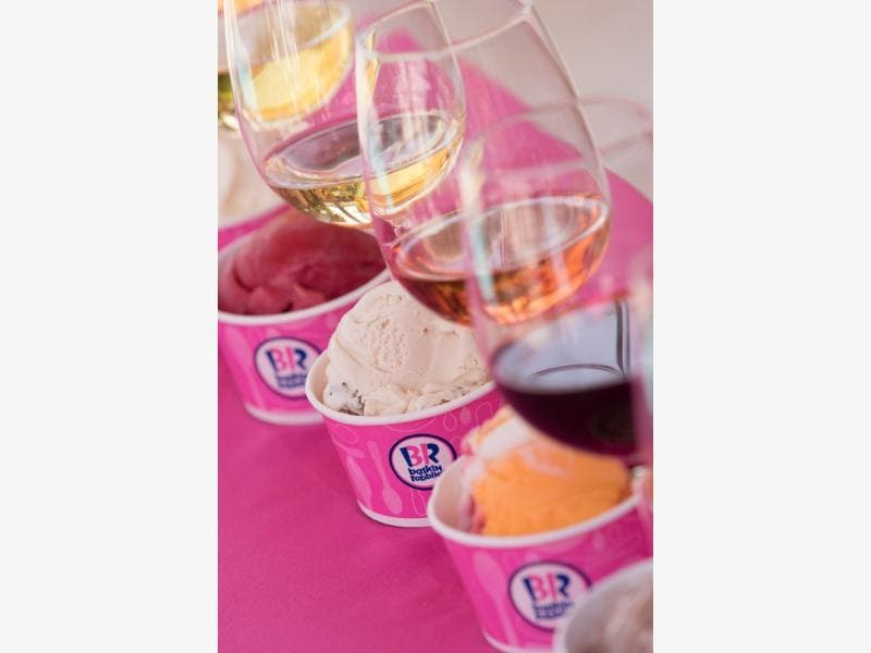 Baskin Robbins Raises A Glass To Summer With Its First Ever Wine And