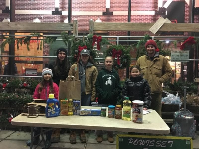 Powisset S 4h Club Participates In National Food Drive