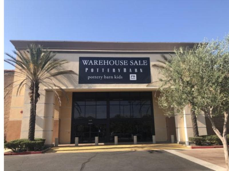 Pottery Barn Warehouse In Moreno Valley Banning Ca Patch