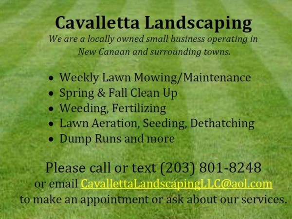 Cavalletta Landscaping LLC (203) 801-8248 - New Canaan, CT Patch