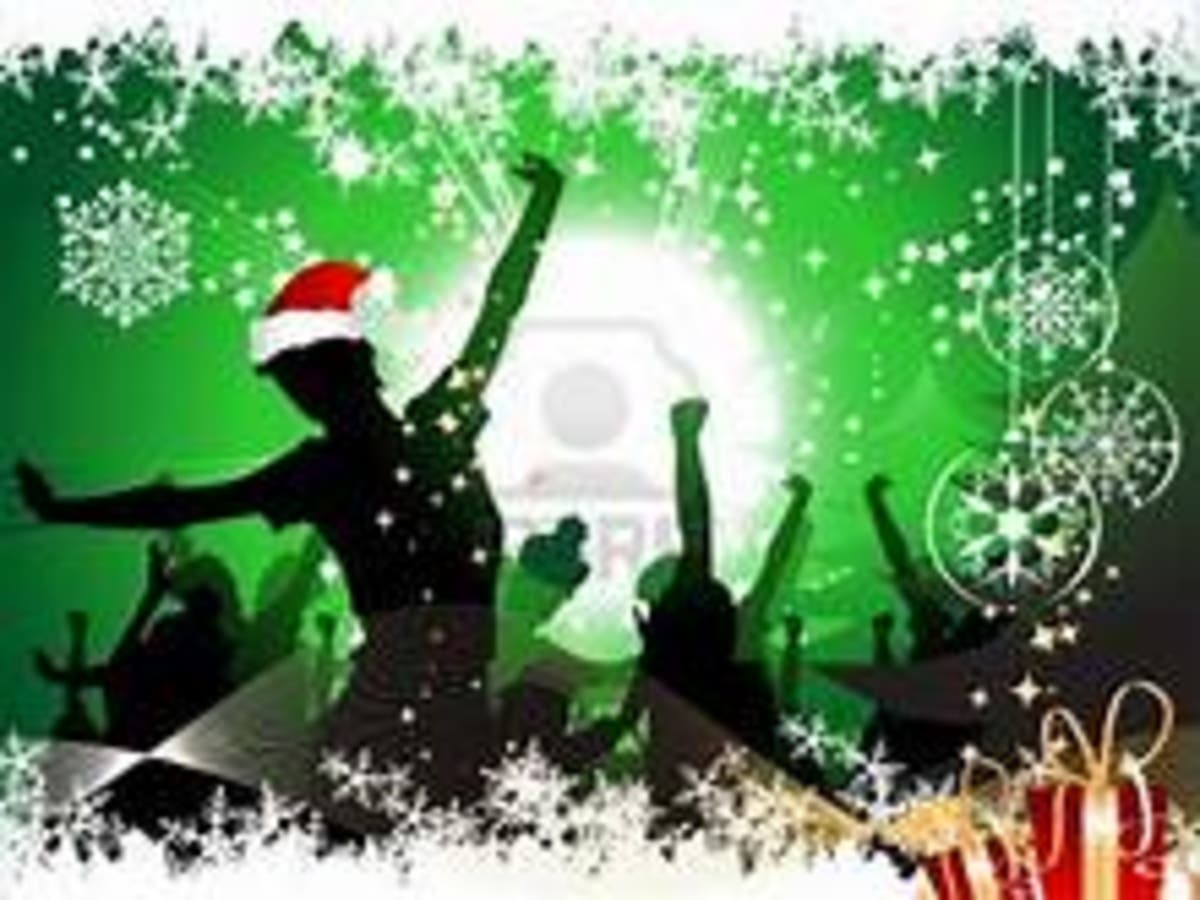 Our Annual Holiday Party, Saturday, Dec  8 at Ronnie's Dance