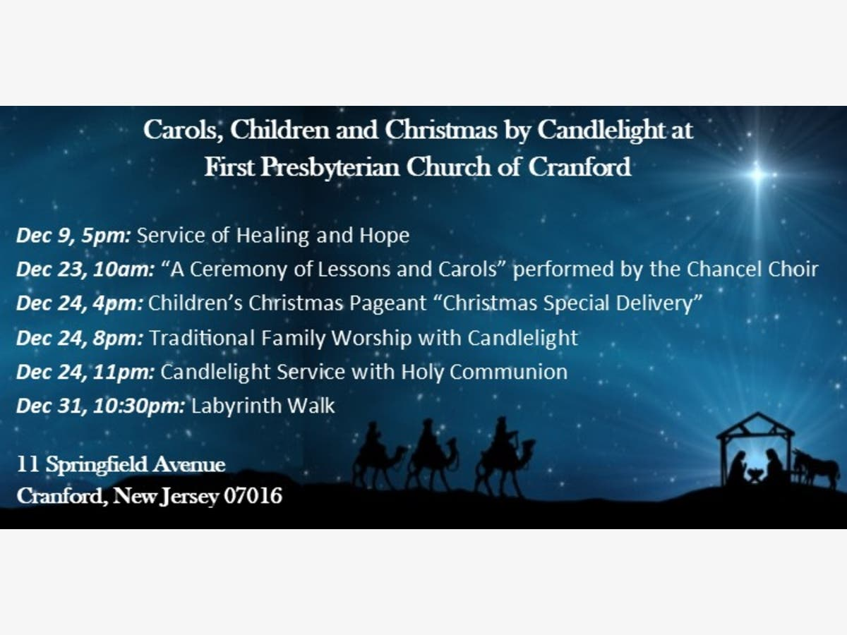 Fellowship Choir Christmas December 23, 2020 Carols, Children and Christmas by Candlelight at First