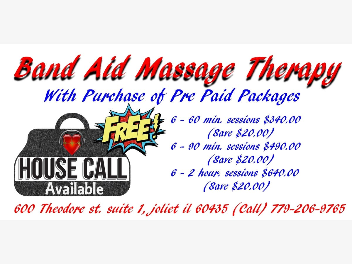 Therapeutic Massage - FREE HOUSE Calls with discounted Pre ...