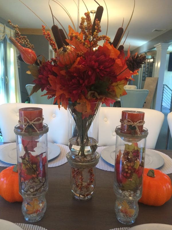 Silk Floral Arrangements And Home Decor