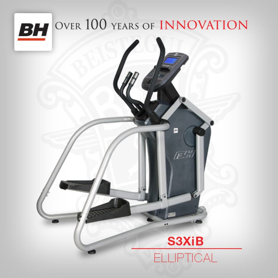 Bh fitness elliptical for your home gym available at frontline