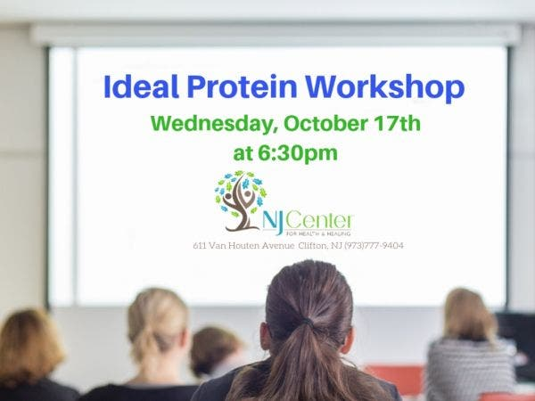 oct 17 ideal protein free weight loss workshop montclair nj patch
