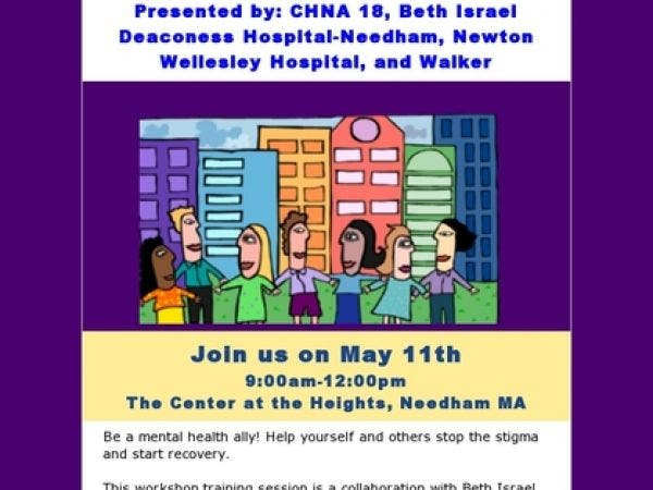 May 11 Free Workshop Becoming A Mental Health Ally Reducing