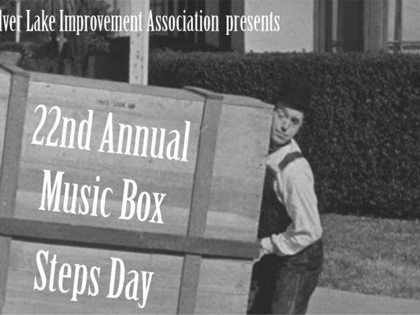 Oct 15 22nd Annual Music Box Steps Day Echo Park Silver Lake Ca