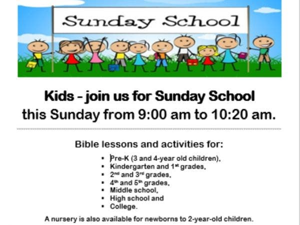 St Paul S United Methodist Church Sunday School