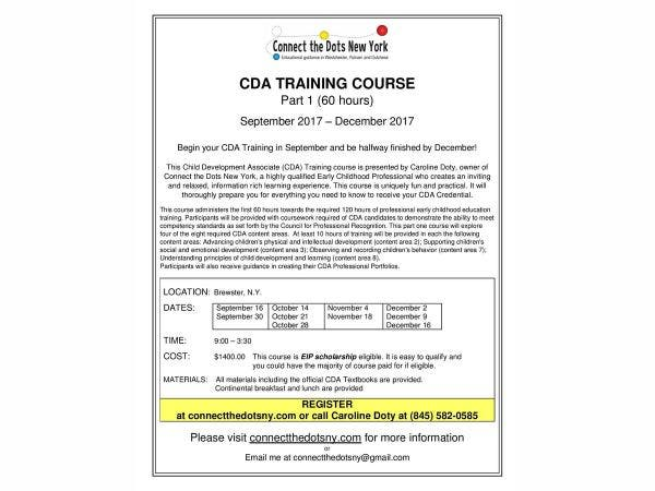 sep 16 | cda training to begin in brewster in sptember | southeast ...