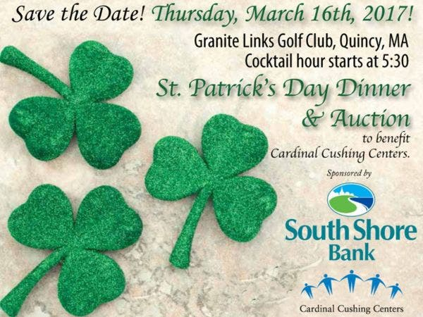 Mar 16 St Patrick S Day Dinner Amp Auction Quincy Ma Patch