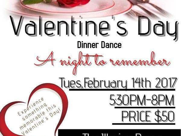 Feb 14 Valentine S Day Dinner Dance Murrieta Ca Patch