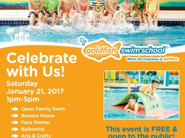 Jan 21 Grand Opening Party At Goldfish Swim School Elmhurst