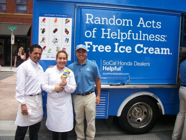 Attractive Helpful Hondau0027s Free Ice Cream Truck Comes To Culver City!