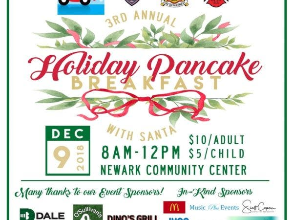 dec 9 3rd annual holiday pancake breakfast with santa fremont