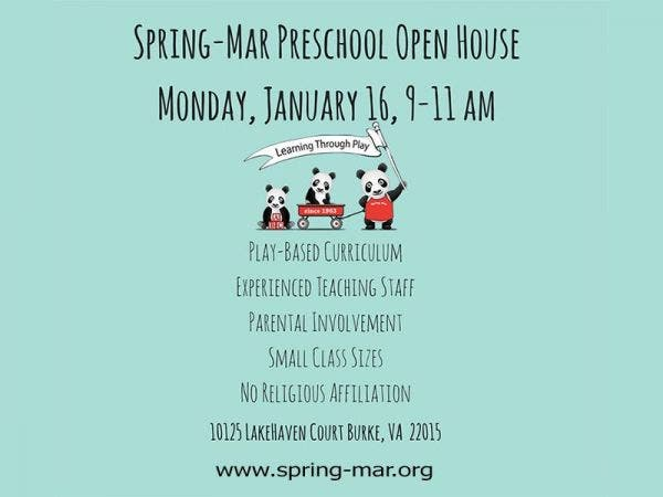 spring mar cooperative preschool jan 16 mar cooperative preschool open house 885