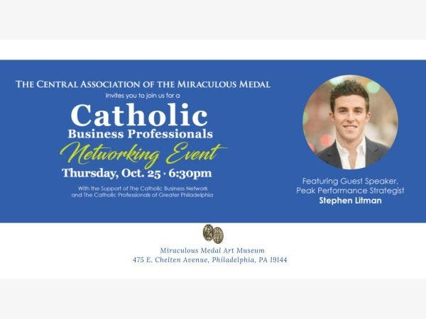 Oct 25 Catholic Business Professionals Networking Event