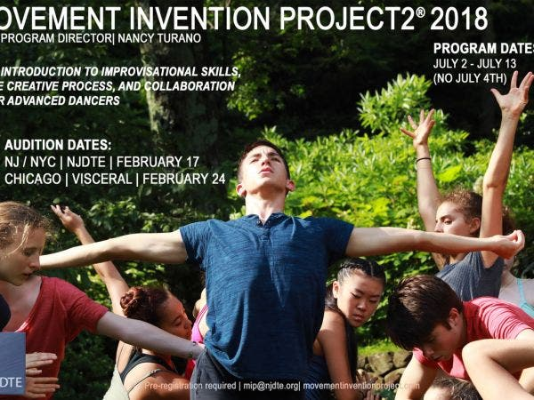 Feb 17 | Movement Invention Project 2® 2018 Auditions