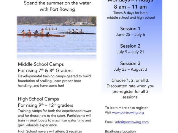 Jun 29 Port Rowing Summer Camps Port Washington Ny Patch