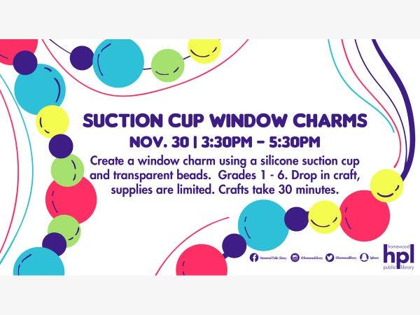 Nov 30 Suction Cup Window Charms Homewood Flossmoor Il Patch