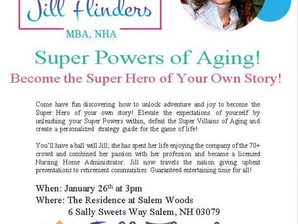Jan 26 | Super Powers of Aging! Become the Super Hero of