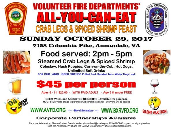 Jul 29 All You Can Eat Steamed Crablegs And Spiced Shrimp