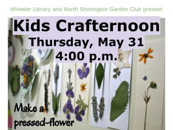 May 31 Kids Crafternoon Stonington Mystic Ct Patch