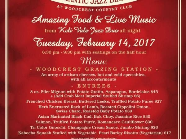 Feb 14 Valentine S Day Dinner Cherry Hill Nj Patch