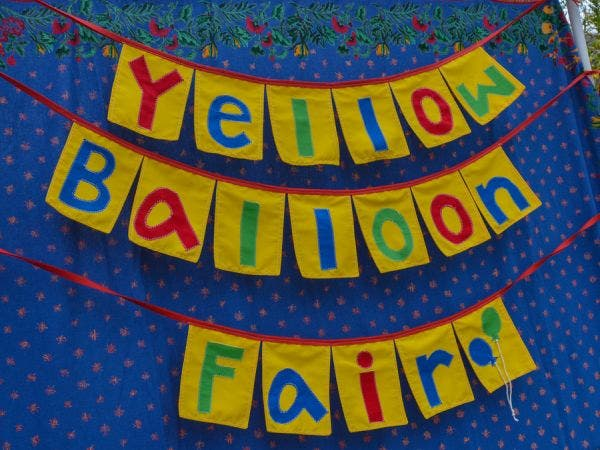 Community Nursery School S Yellow Balloon Fair