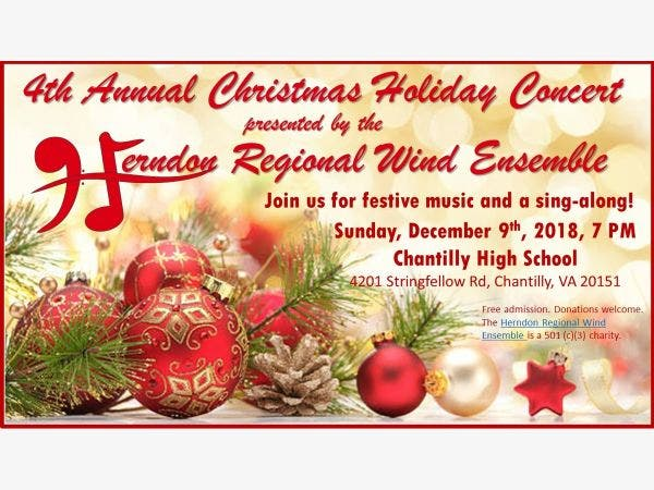 hrwes christmas holiday concert in chantilly