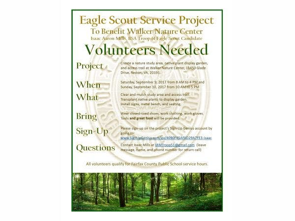 Jed Erill Needs Some Help With His Eagle Scout On Sunday February 22nd From 2pm Until 5pm S Involves Making Of The Existing