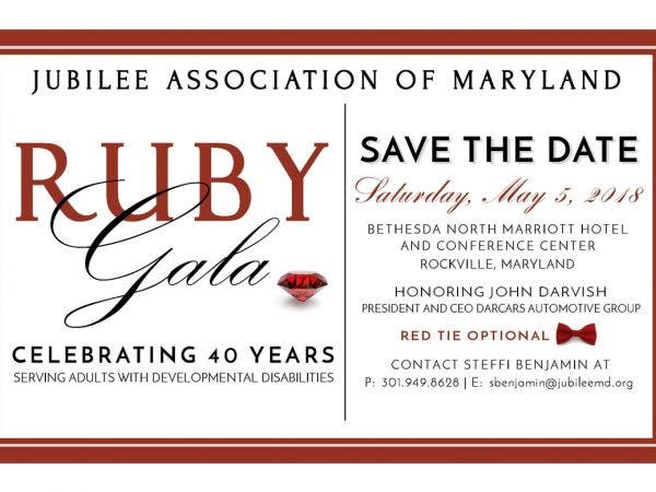 Jubilee Ociation Of Maryland 40th Anniversary Gala