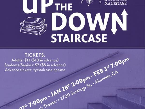 Jan 27 Up The Down Staircase Alameda Ca Patch
