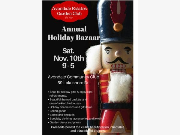 Avondale Estates Garden Clubs Holiday Bazaar