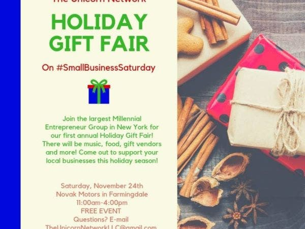 nov 24 holiday small business gift fair farmingdale ny patch