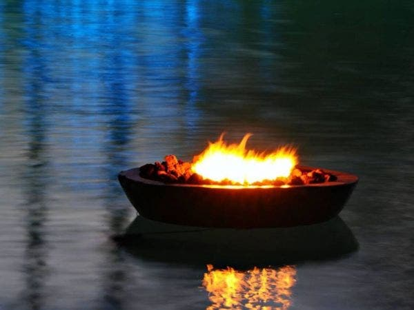 Floating Fire Pit w/ S'mores - Paddle Out and Enjoy - May 18 Floating Fire Pit W/ S'mores - Paddle Out And Enjoy