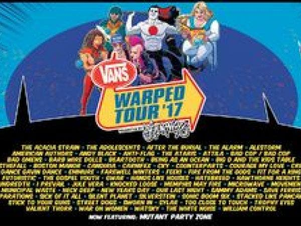 8a504008ee88f0 Vans Warped Tour Presented By Journeys