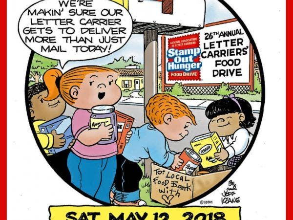 2018 norwood letter carriers food drive