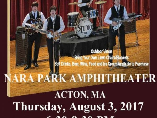 Aug 3 Studio Two Beatles Tribute Band Waltham Ma Patch