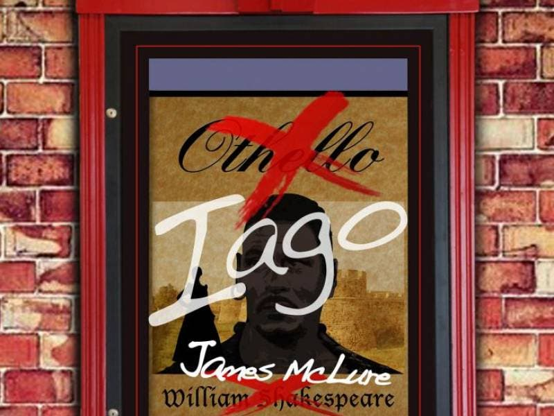 A twist of shakespeare comes to nj rep with iago by james mclure.