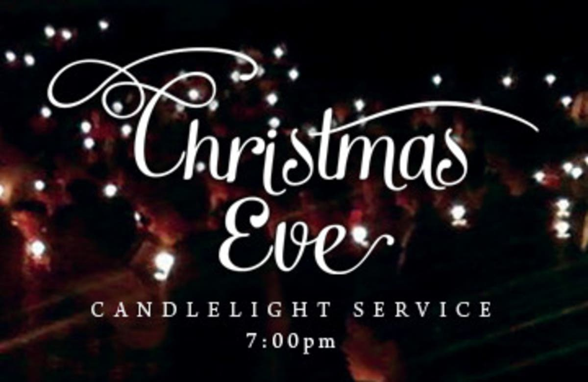 Christmas Eve Services.Dec 24 Candlelight Service Christmas Eve Forest Hills