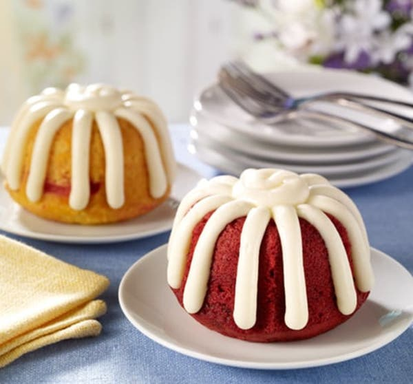 Cake at the New Nothing Bundt Cakes