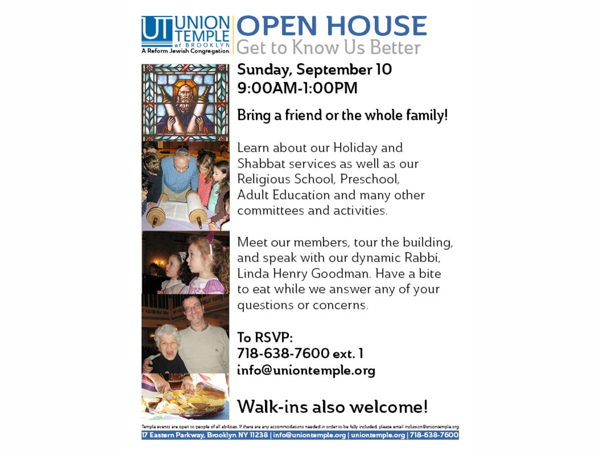 Dec 31 | Union Temple Open House | Prospect Heights-Crown