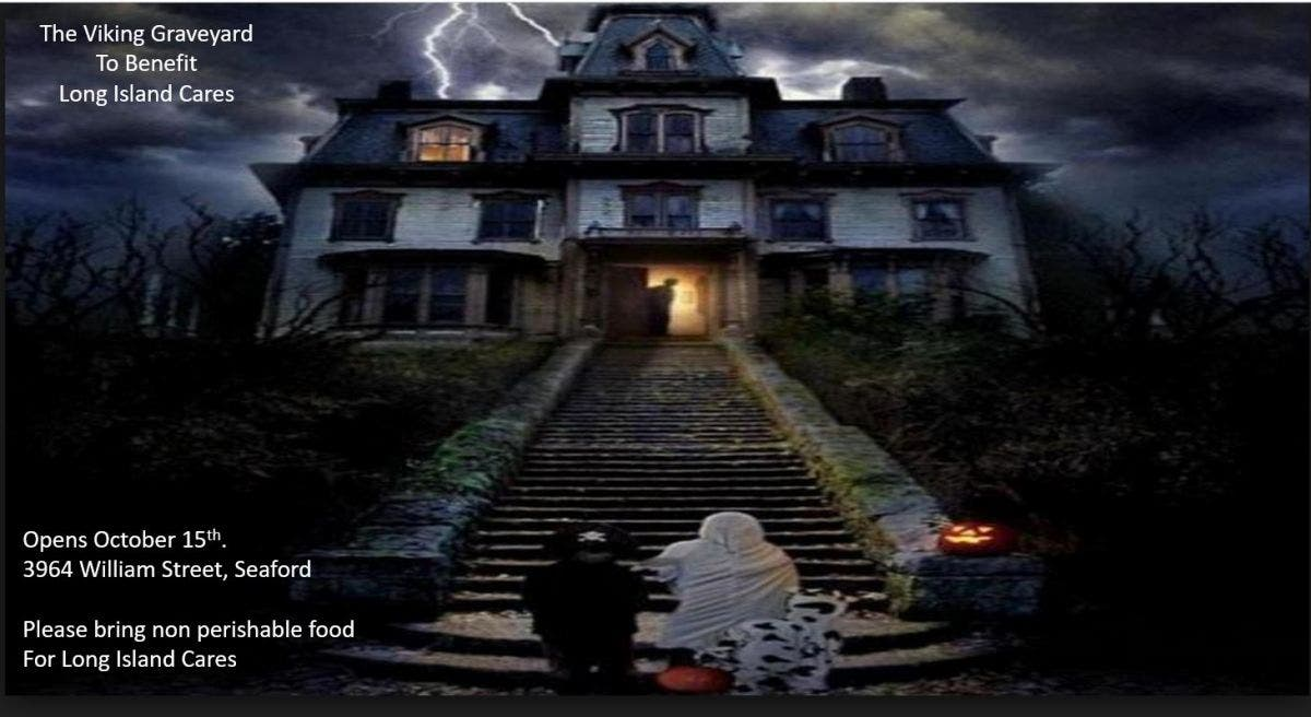 Remarkable Oct 19 Viking Graveyard Haunted House For Long Island Interior Design Ideas Pimpapslepicentreinfo