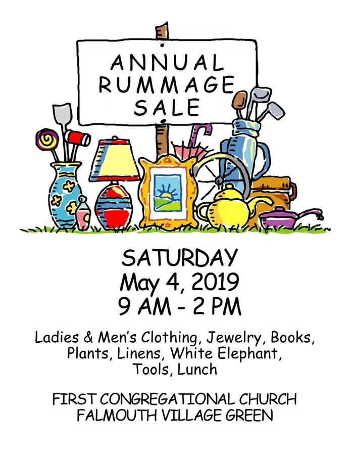 May 4 | All-Church Rummage Sale | Falmouth, MA Patch