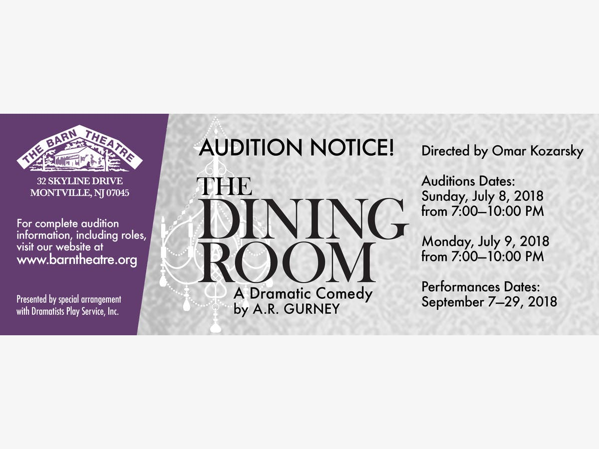 Dec 31 | Auditions for